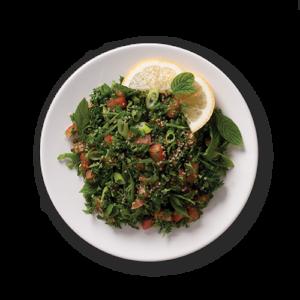 Tabbouleh salad at Mezza Lebanese in Halifax NS